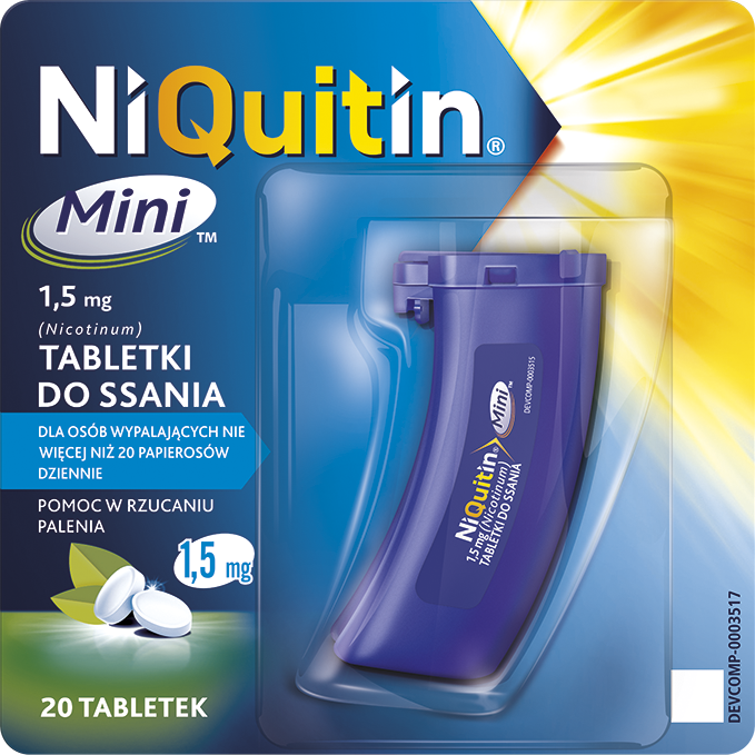 NiQuitin Mini / 1,5 mg