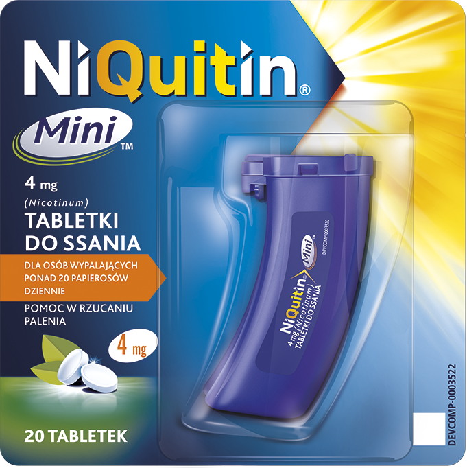 NiQuitin Mini / 4 mg