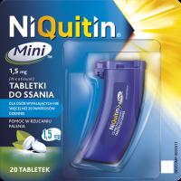 Tabletki do ssania NiQuitin Mini