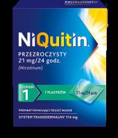 Plastry NiQuitin